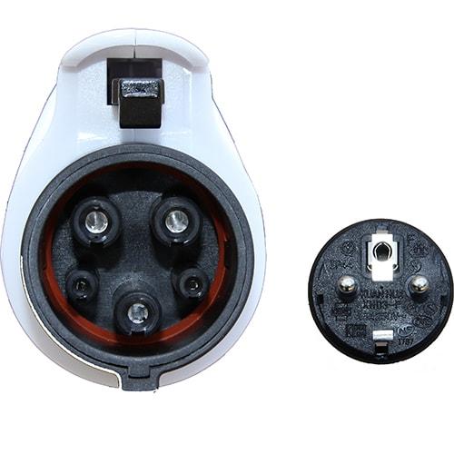 5-EV EVSE Type1 (max. 16A) Elektromos autó mobil töltőállomás