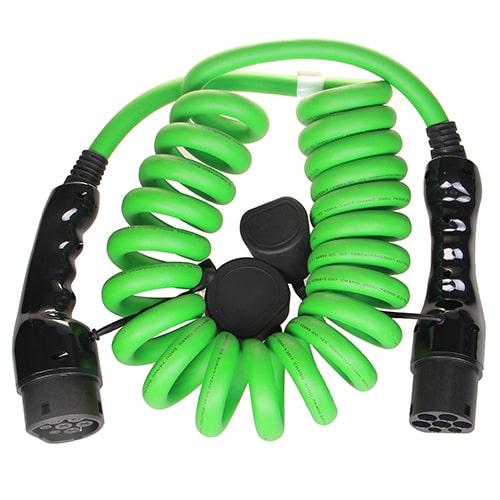 2-EV Type2 -> Type2 spiral (3x32A) Elektromos autó töltőkábel