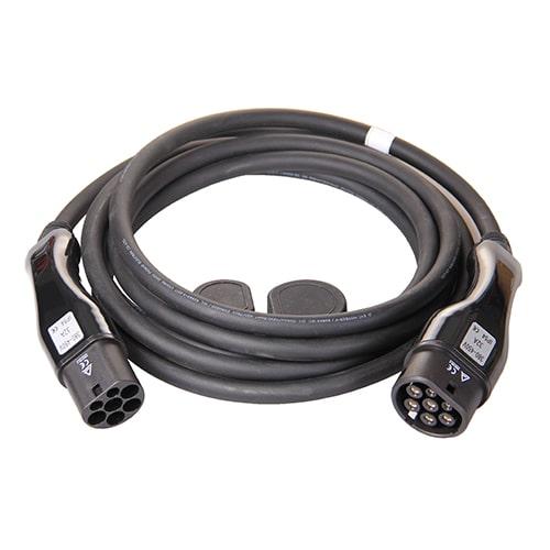 1-EV Type2 -> Type2 (3x32A) Elektromos autó töltőkábel
